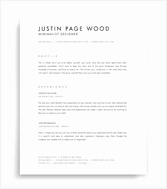Minimalist Resume Template Download Psde Word Free Cv Curriculum Free Minimalist Resume Template Word608540