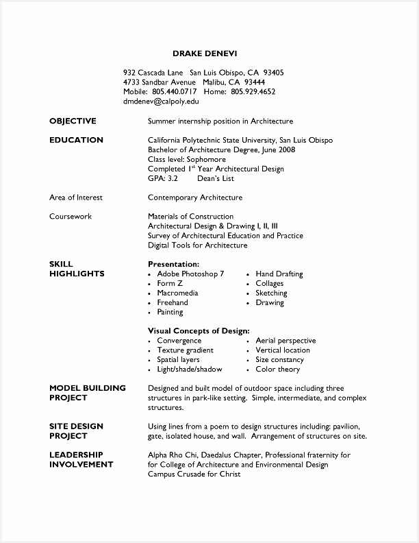 Pages Resume Template Best Cv Sample for Job Fresh 1 Page Resume Template Pdf format792612