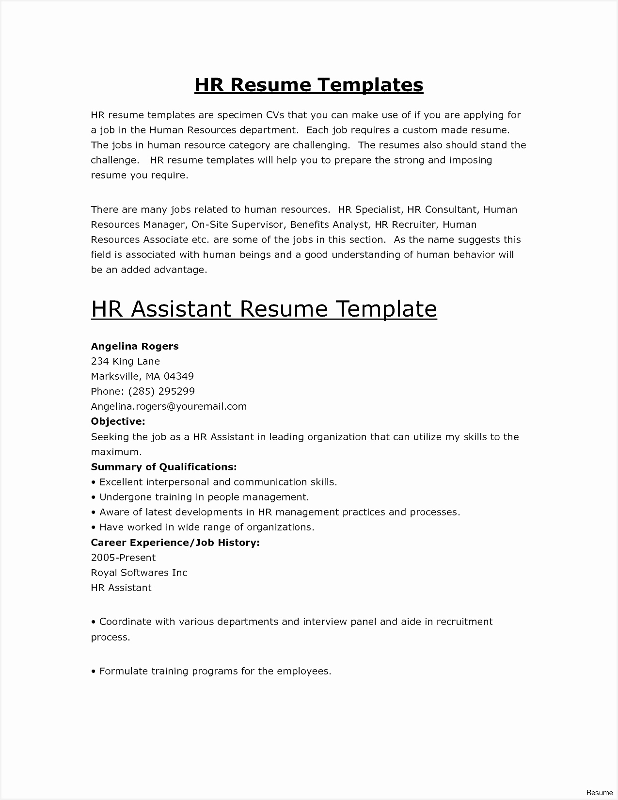 Free Word Resume Template Awesome Free Resume Template Builder Inspirational Od Specialist Sample16501275