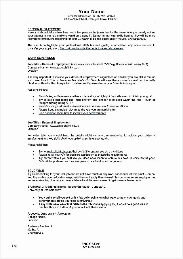 4 cv template 2018 uk