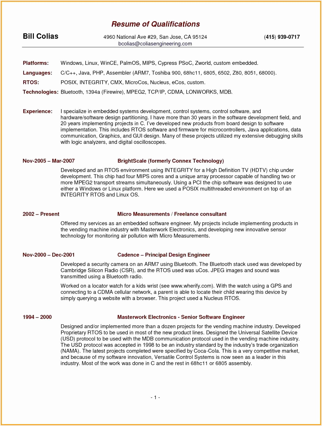 Beautiful Sample Resume Template16171224