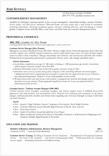Customer Service Resume Sample Canada Elegant Resume Samples for Customer Service Awesome Od Specialist Cover500350