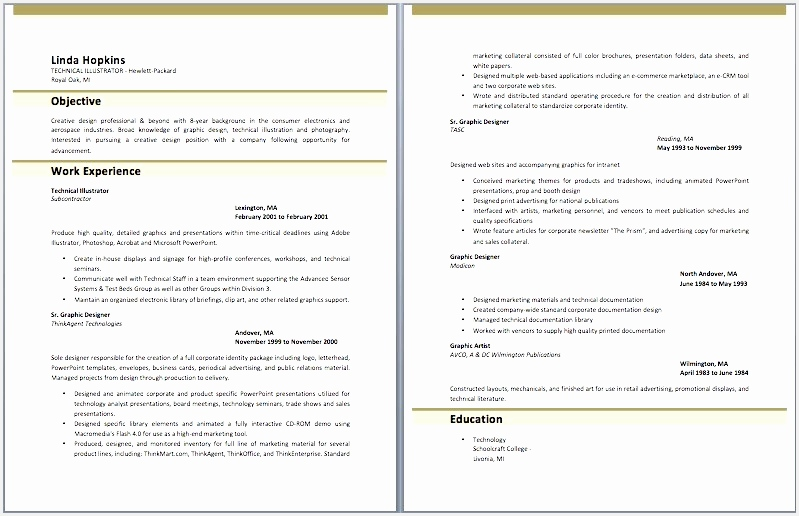 Adobe Illustrator Cv Template Luxury Illustrator Resume Templates Lovely Https I Pinimg 736x 0d 3d 62516799