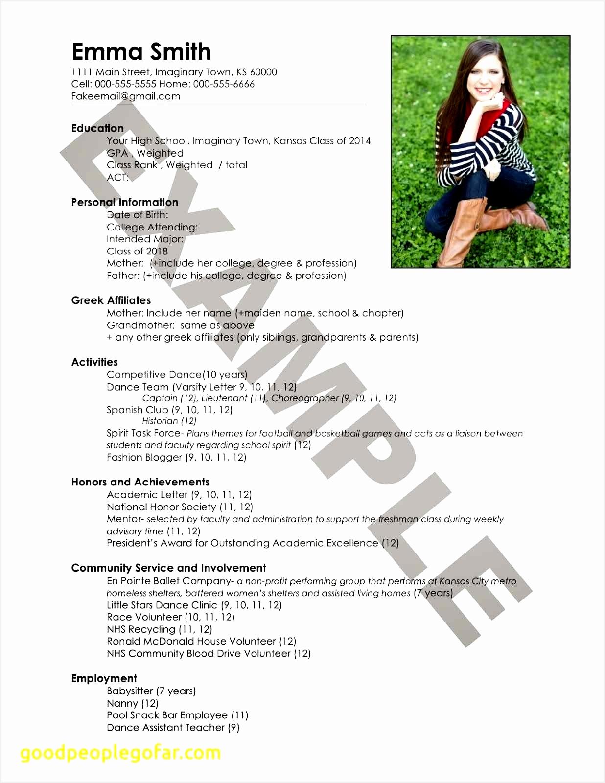 Entry Level Resume sorority Resume 0d16001236