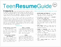 Image result for Teenage Resume When you have your content check out ResumeFoundry on Etsy for Student Resume Templates181236