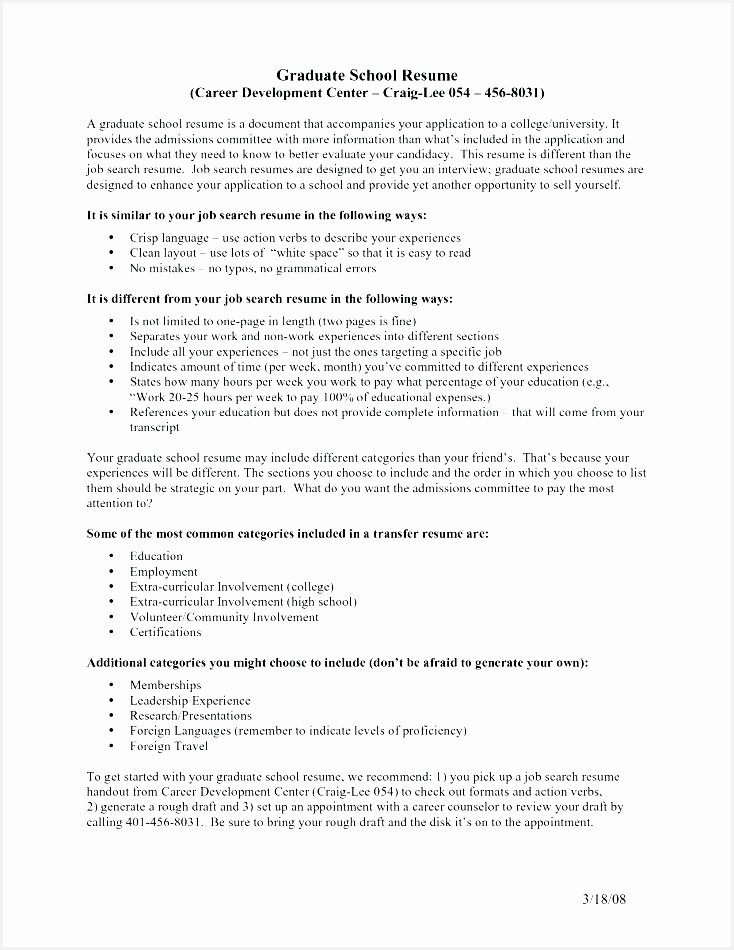 graduate school resume format luxury grad school resume template graduate school resume format beautiful resume for950734