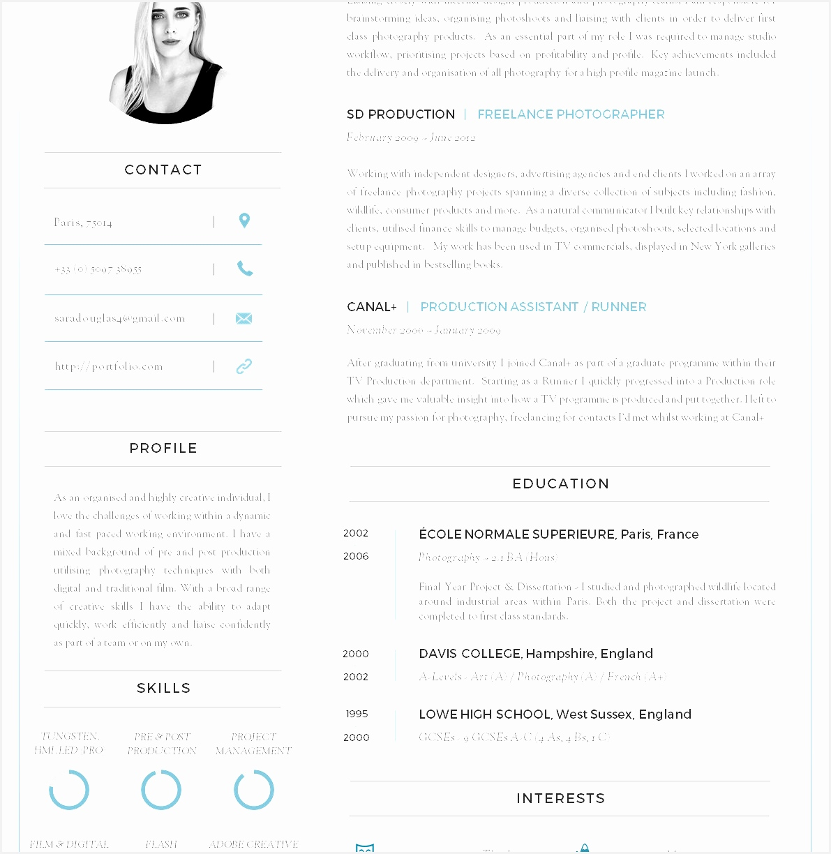 5 cv template key achievements   curruculum vitae