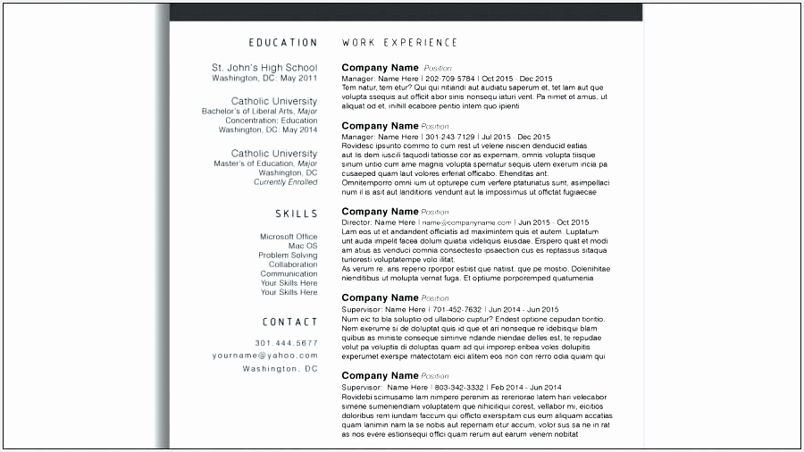 resume template modern resume templates remarkable resume template creative best free modern sample free modern resume506900