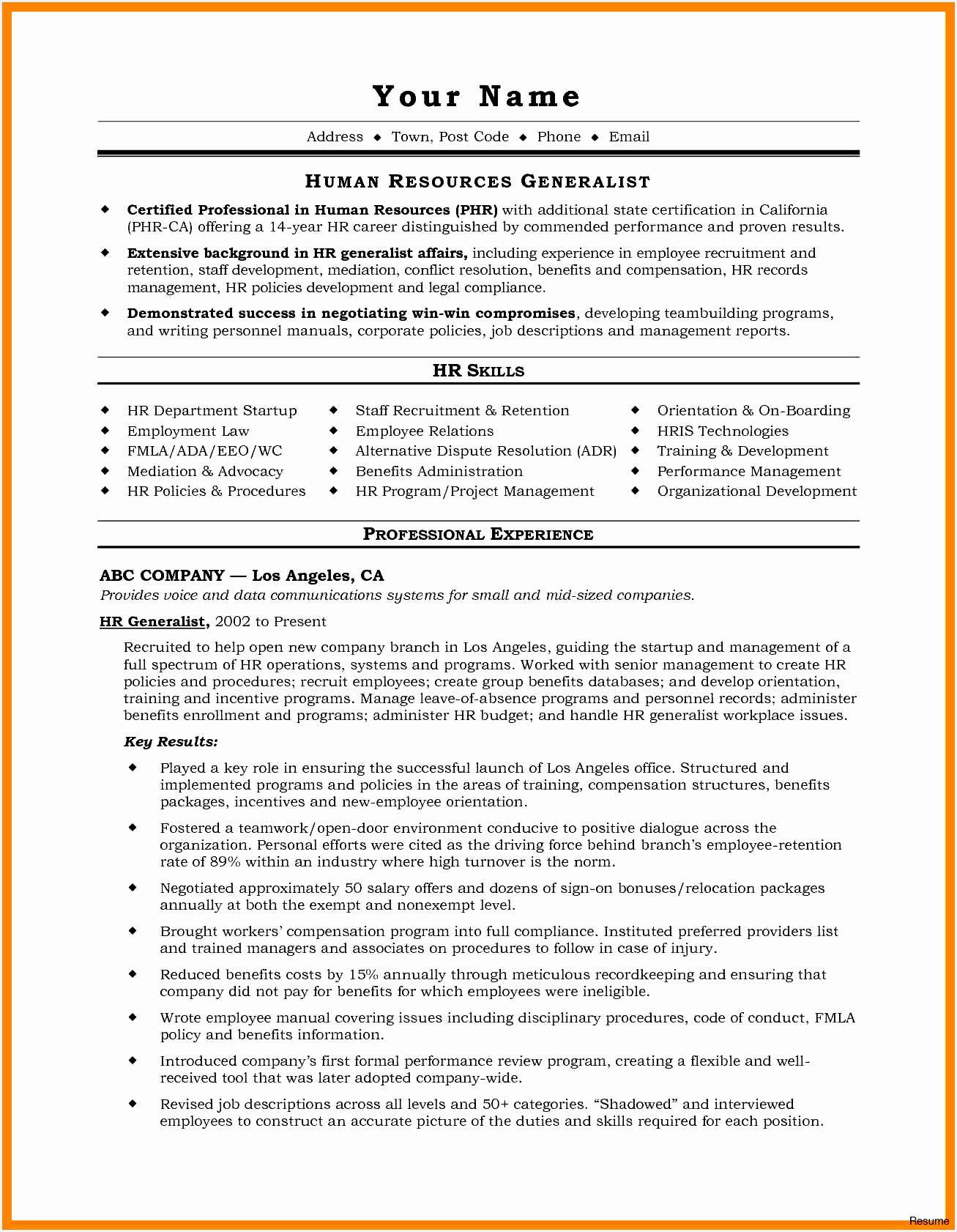 Lawyer Resume Sample Unique Email Marketing Resume Sample Unique Od Specialist Sample Resume16821307
