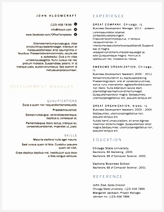 21 Free Résumé Designs Every Job Hunter Needs305236
