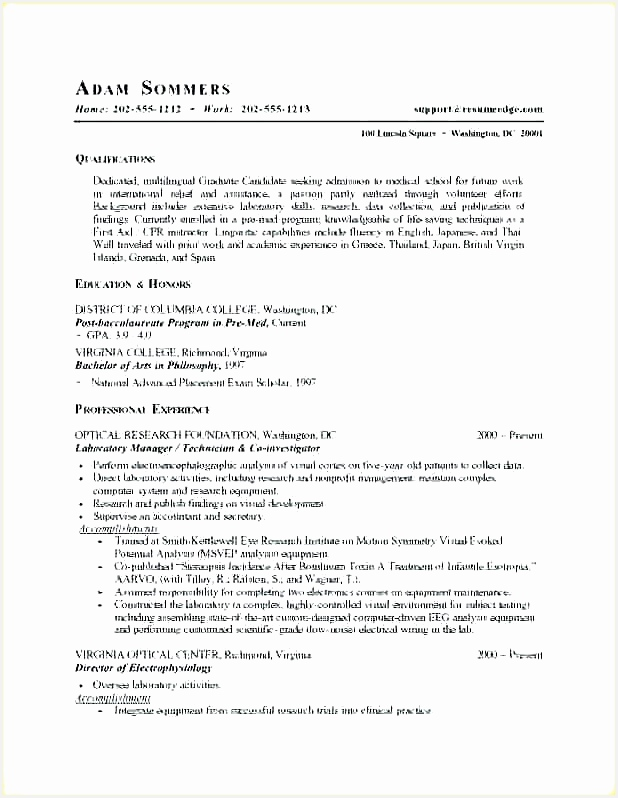 Resume Template for Medical Field Fresh Medical Student Resume Medical Resume Samples Medical Resume 55798618