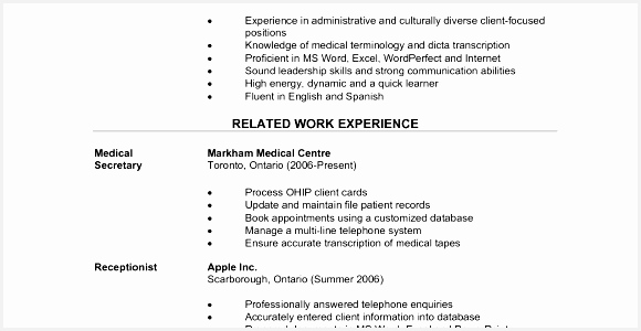 Resume for Medical fice assistant Download Fice Administration Medical Sample Resume Prepared Centennial300580