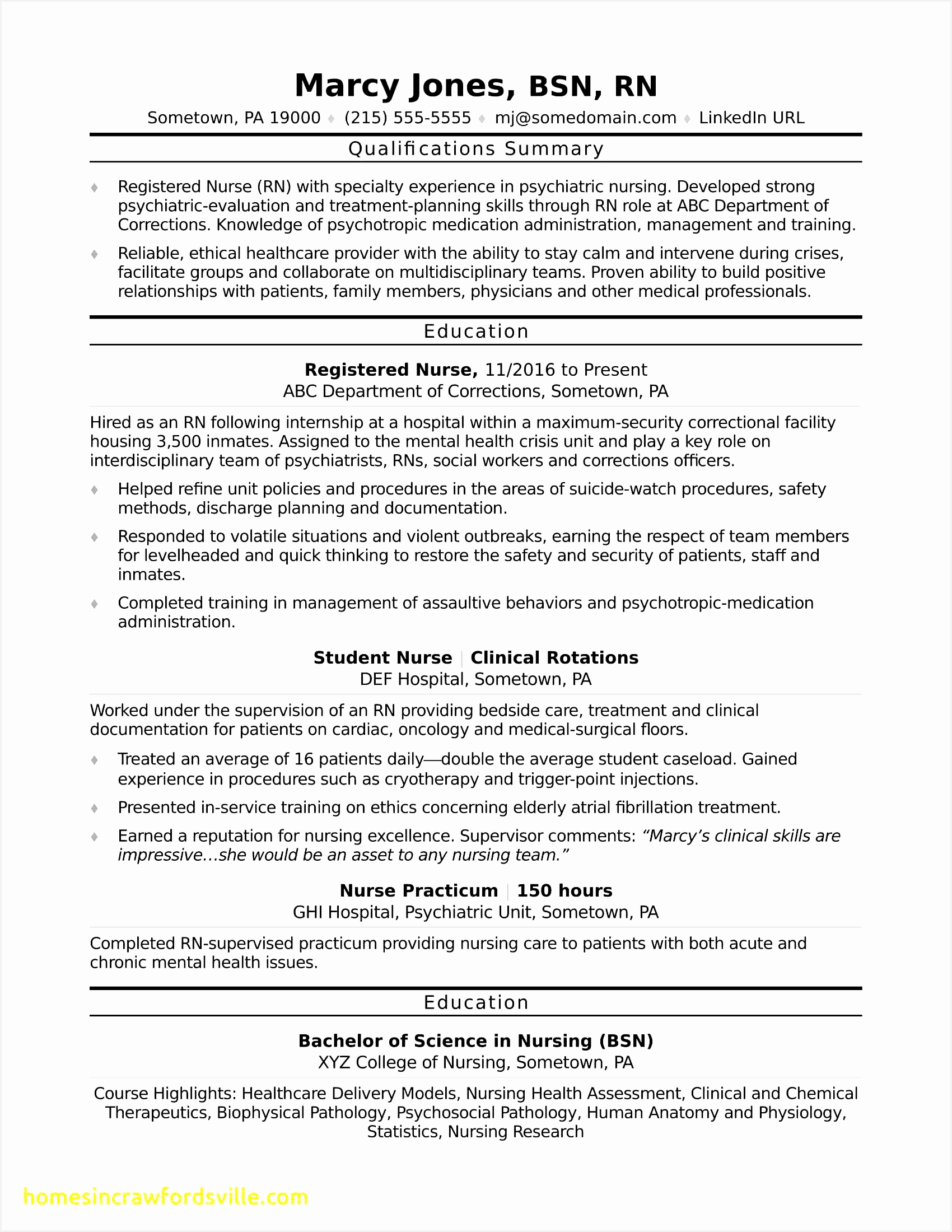 Rn Resume Sample Beautiful Registered Nurse Rn Resume Sample Monster22001700