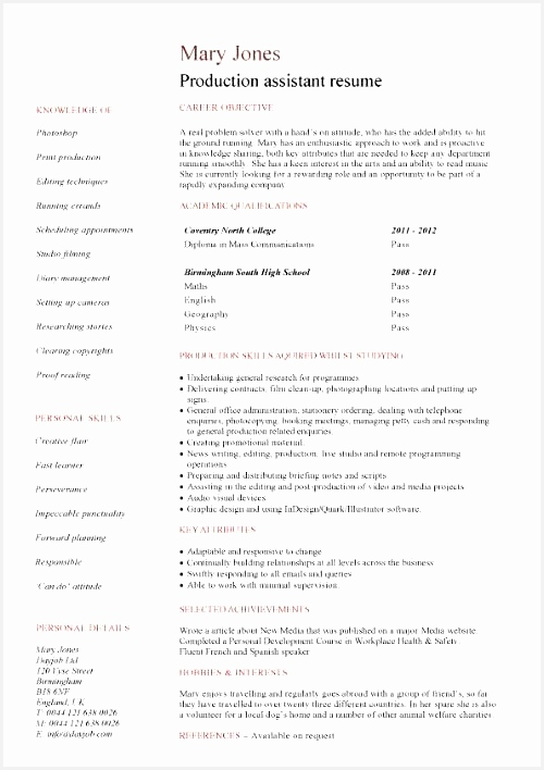 Resume With No Work Experience Template Student Examples Graduates Format Templates Builder708500