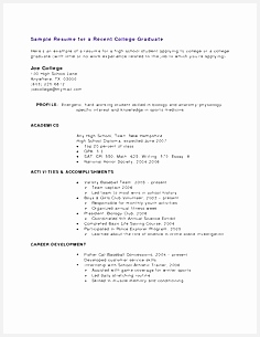 High School Student Resume With No Work Experience Resume Examples For High School Students With No305236
