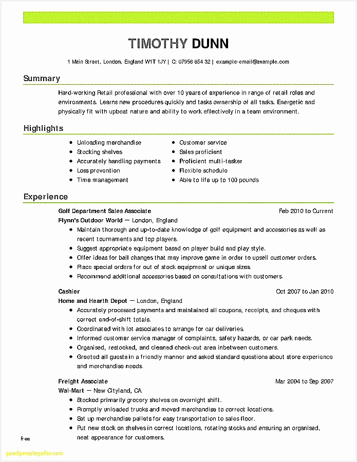 Good Template for Resume Best How to Make Proper Resumes Resume Outline format Free Best900695