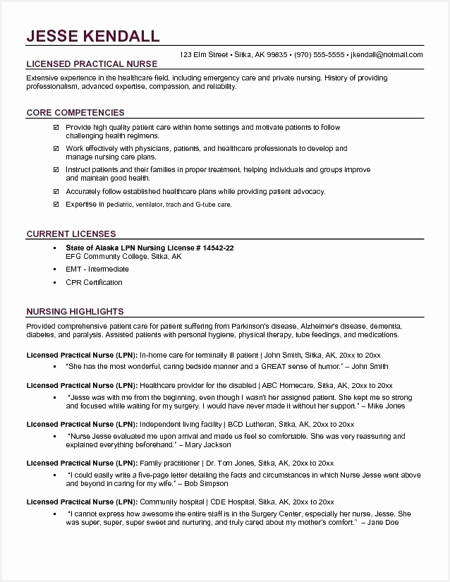 19 medical field resume samples example resume examples825638