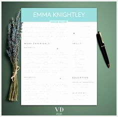 Professional Resume Template 5 Pages Modern Resume Template for Word Feminine Resume Teacher Resume Assistant Resume Pinterest234236