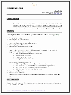with Great Career Objective Job Profile and Awesome Example Template Professional Curriculum Vitae with Free Download in Word Doc PDF 2 Page Resume313236