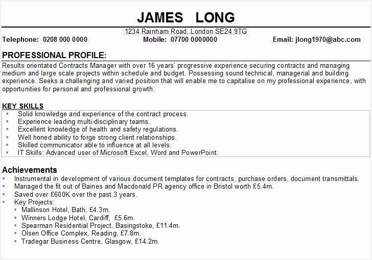 example resume profile career profile resume example summary corezumeco looking for great professional template graphic design510728