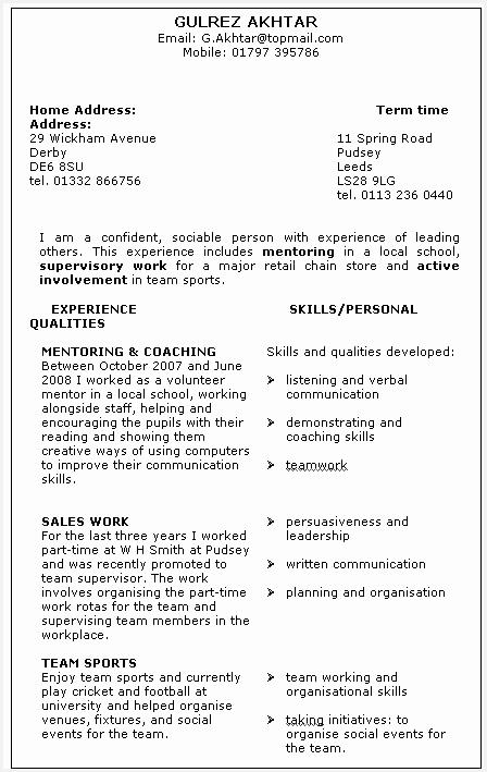 google resume sample709448