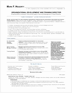 mark f hagerty od training director resume by mfhagerty via Slideshare305236