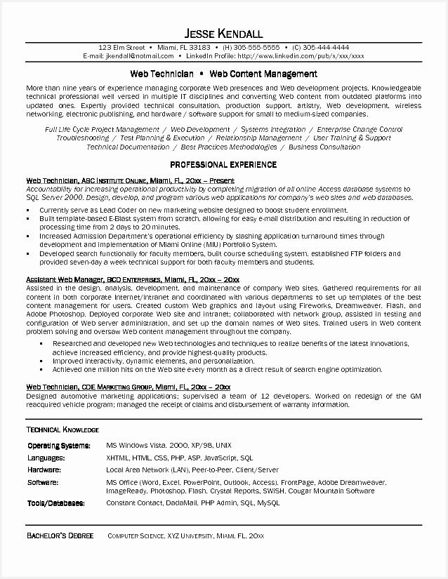 Curriculum Vitae Template Canada – millbayventures825638
