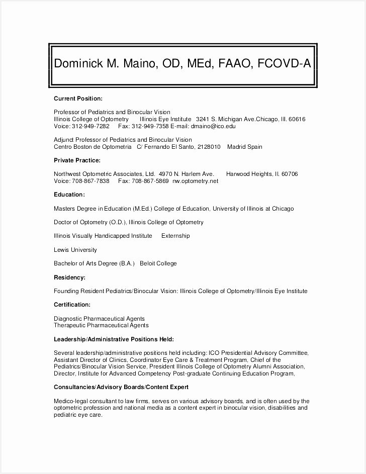 Curriculum Vitae Template Medical Student – millbayventures943728