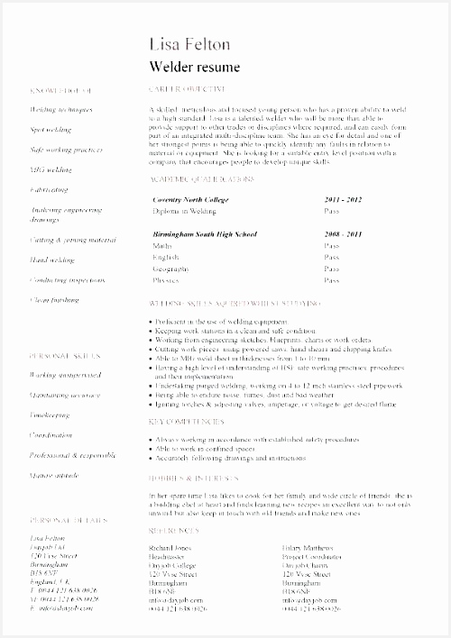 brief resume template entry level welder resume template resume template 2018 malaysia708500