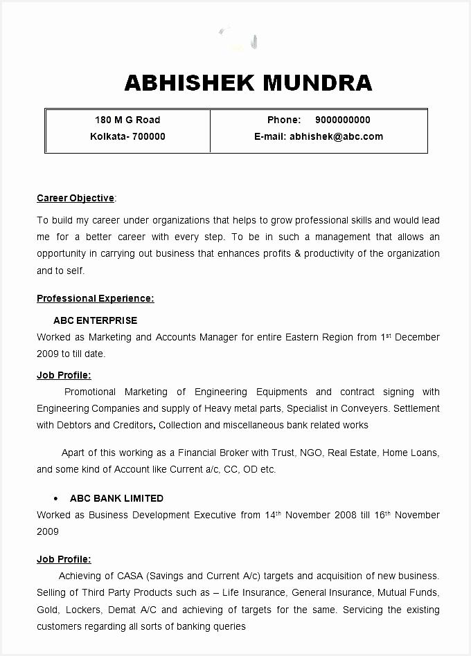 Undergraduate Resume format Sample Undergraduate Resume Professional Template948680