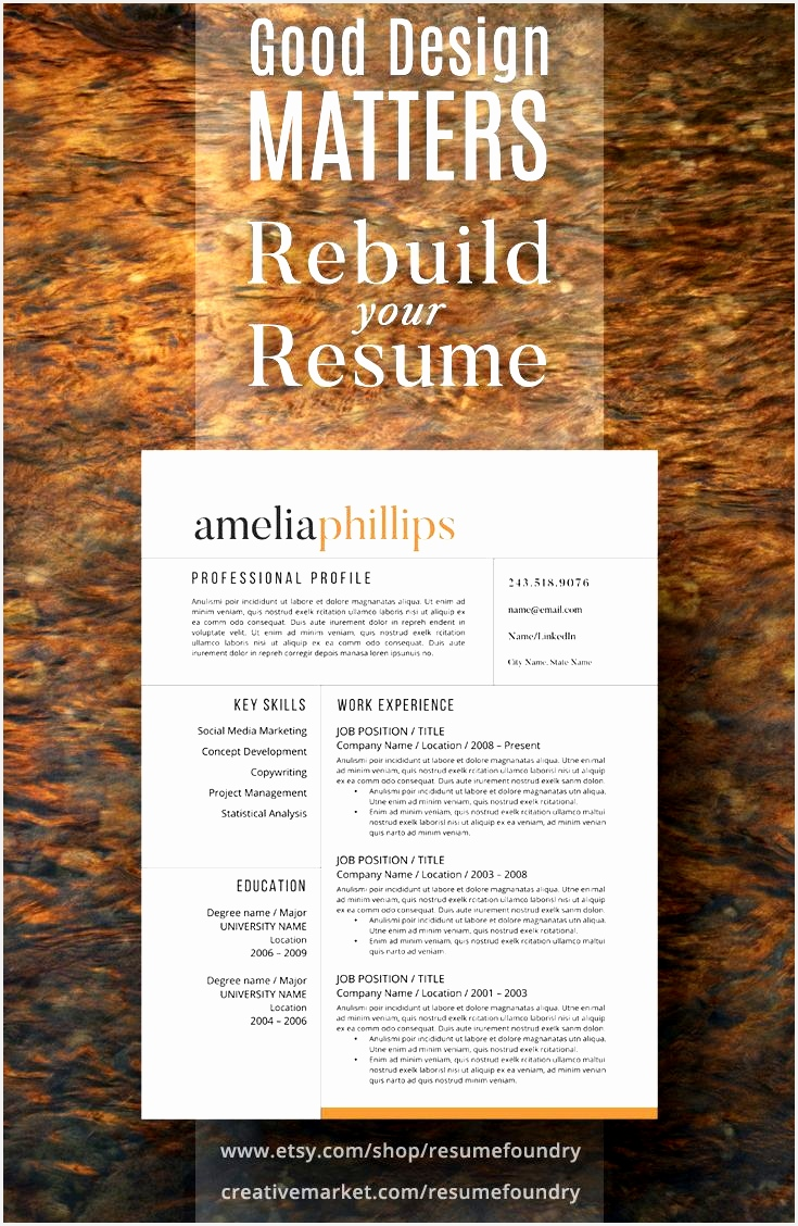 132 best Resume Template for Instant Download images on Pinterest1128735