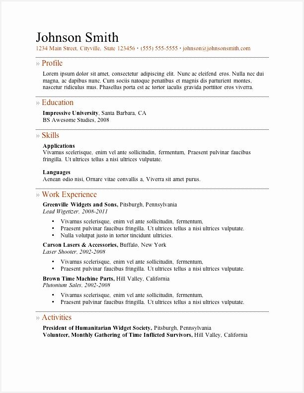 my free resume790612