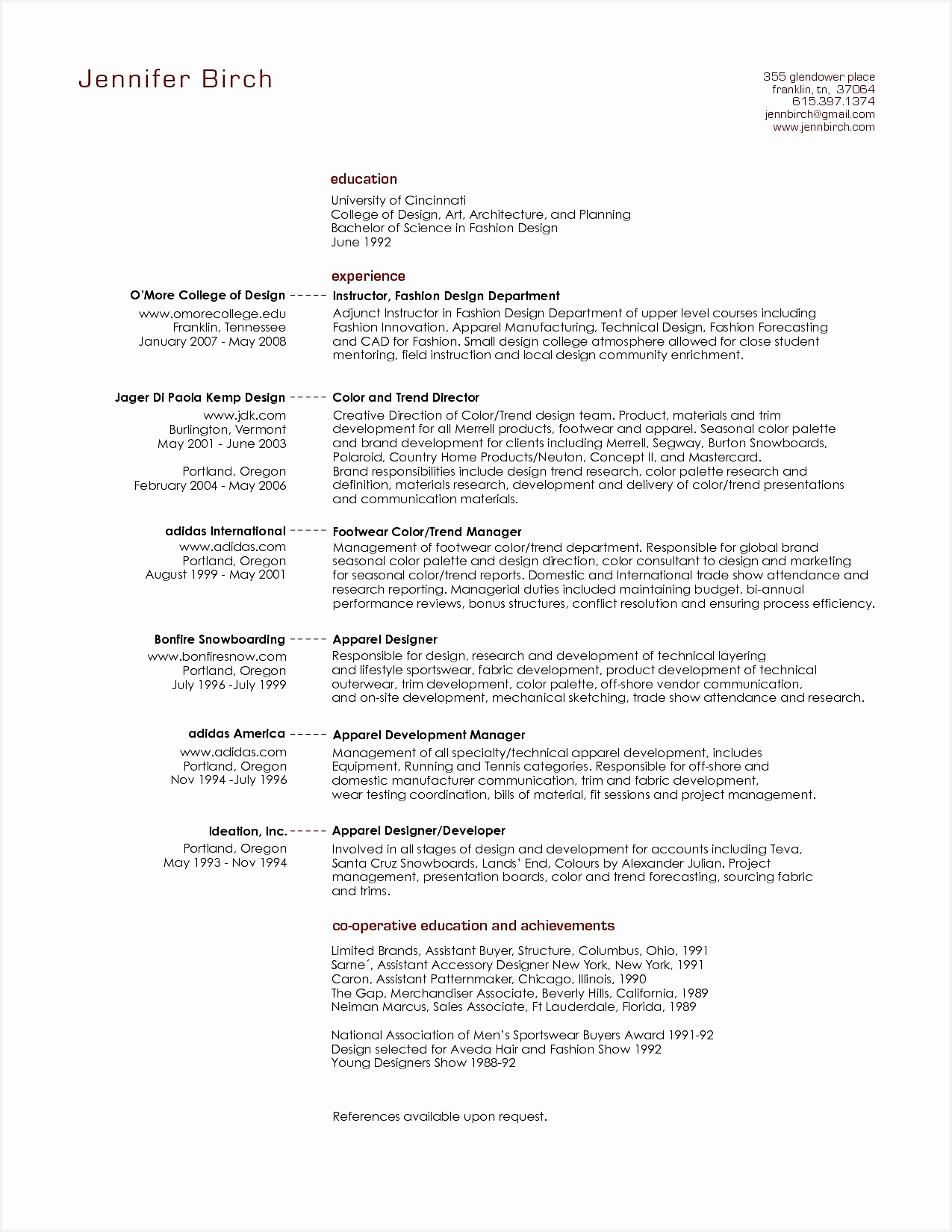 Resume Cv Executive Sample Luxury Resume Examples 0d16501275