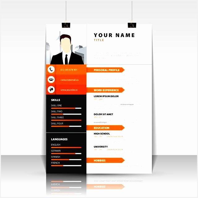 Personal Profile Design Templates Free Resume Template Vector Illustrator Resume Creative Design640640