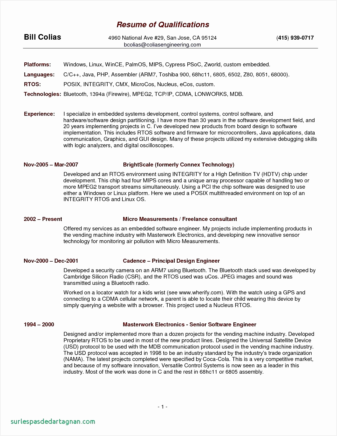 Free Resume Ideas – Template of Business Resume Bud Proposal16501275