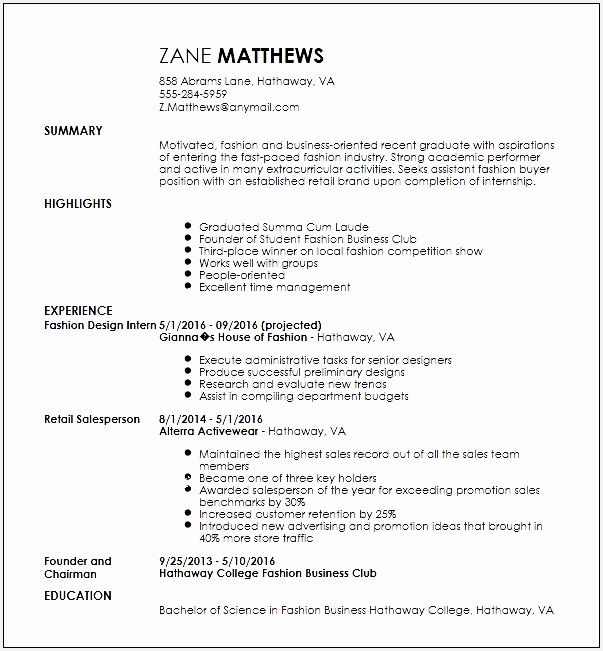Cv Template for Retail assistant Beautiful Fashion Er Resume Neuernoberlin 59 Fantastic Cv Template for651603