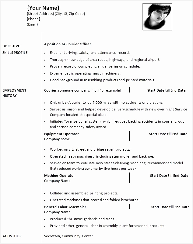resume top 10 resume templates word 2010 good format in the world802634