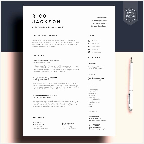 Resume template for Ms Word CV template with FREE Cover Letter568570