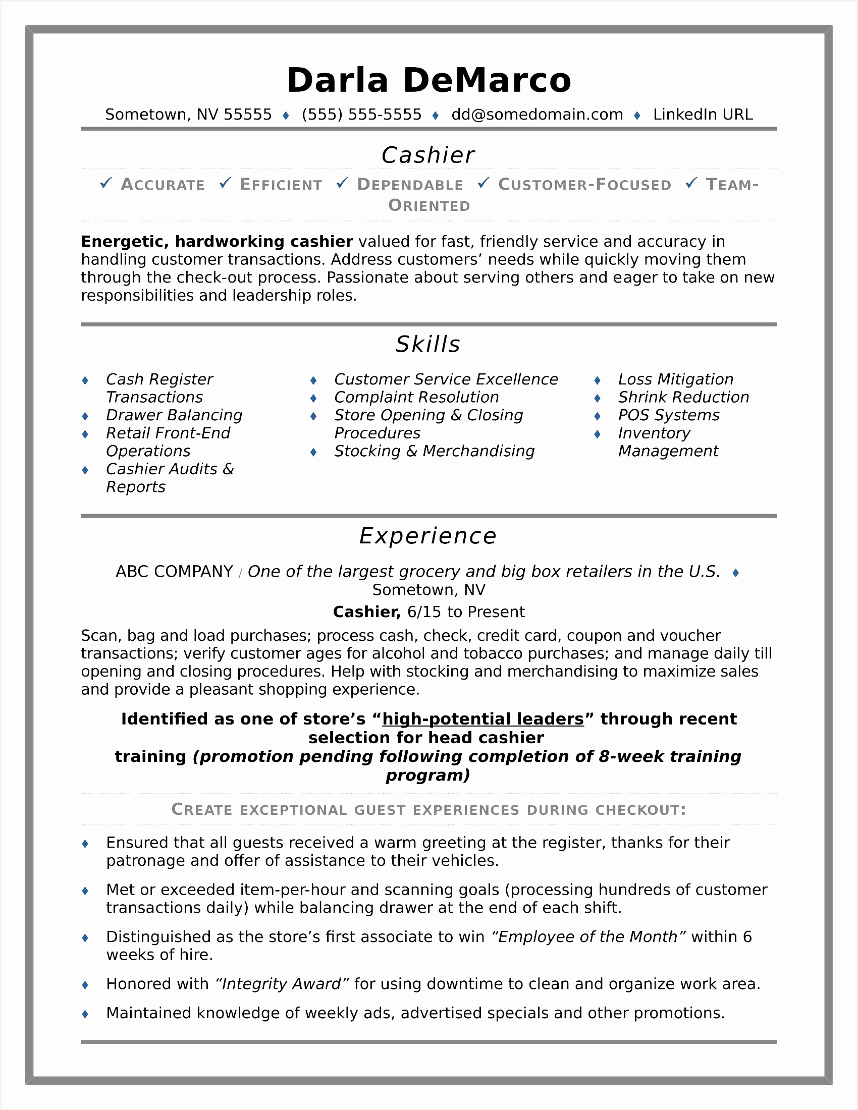 Word Beautiful Executive Resume Examples Good Resume Information22001700