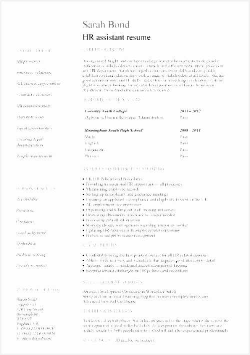 Legal Resume Template Word Unique Resume Template Student High School for Doc – Collaborativenation708500