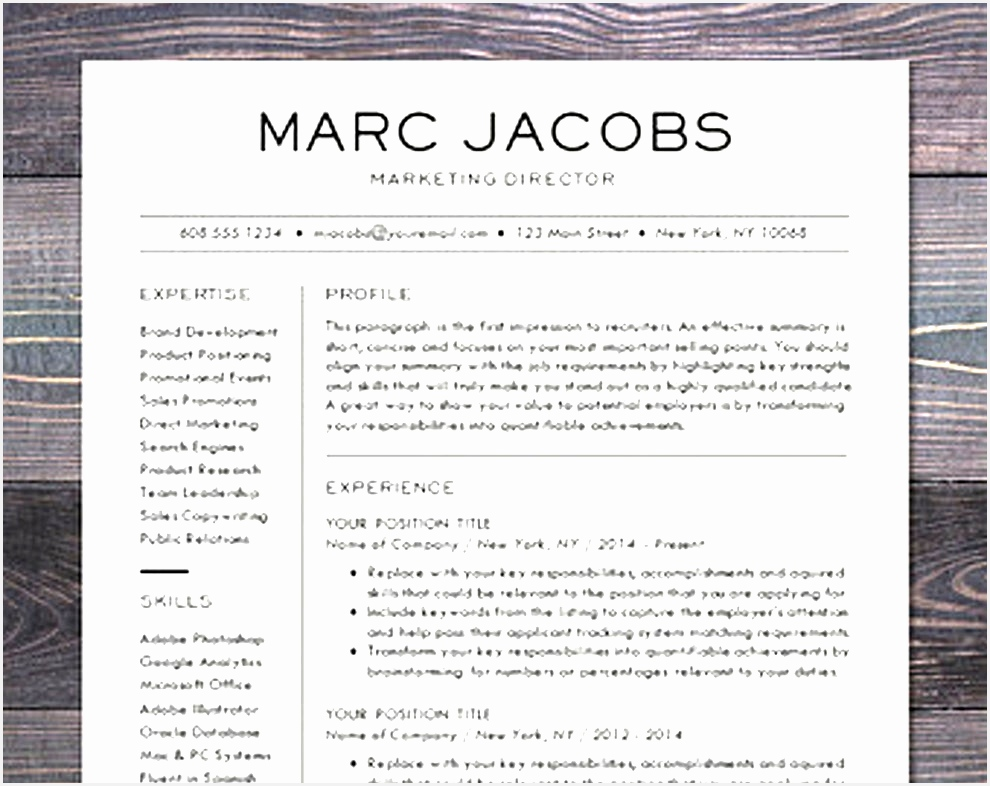 Simply Modern Resume Template Word Free Download Modern Resume Templates 10 Modern Resume Template CV For786990