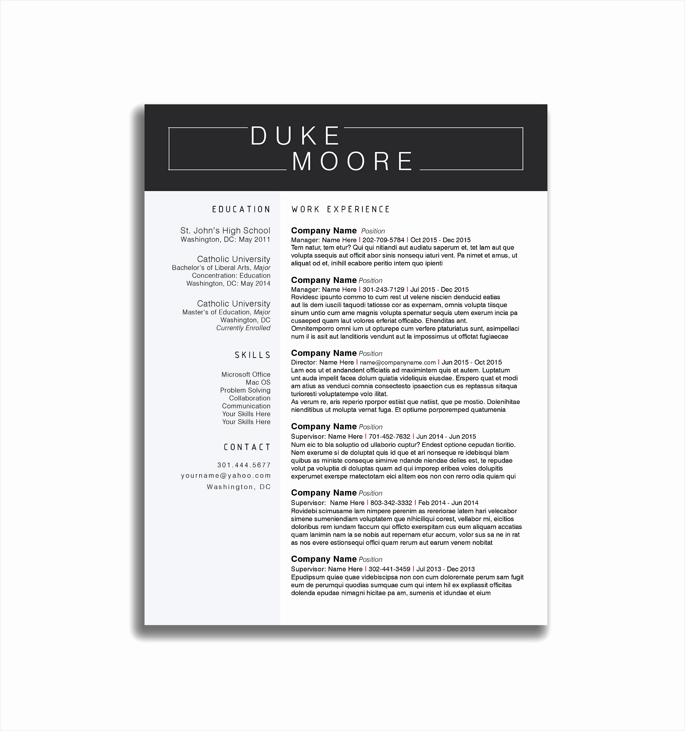 shop Resume Template Free Best Resume Templates Template Docx Free Download Modern Academic Cv Word30002808