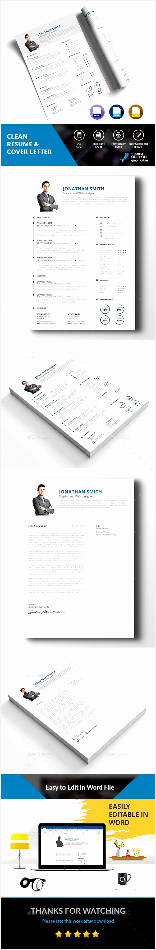 20 Lovely Resume Templates In Word format Pics3590590