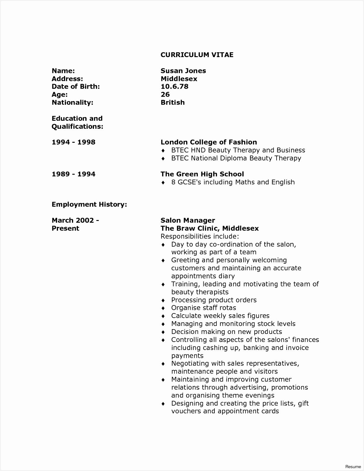 Fresh Elegant Europass Curriculum Vitae Template Resume Vs Curriculum Vitae 18 Awesome Resume Vs Curriculum15841224