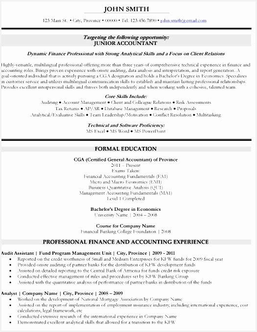 Here to Download this Junior Accountant Resume Template resume templates Template 433679525