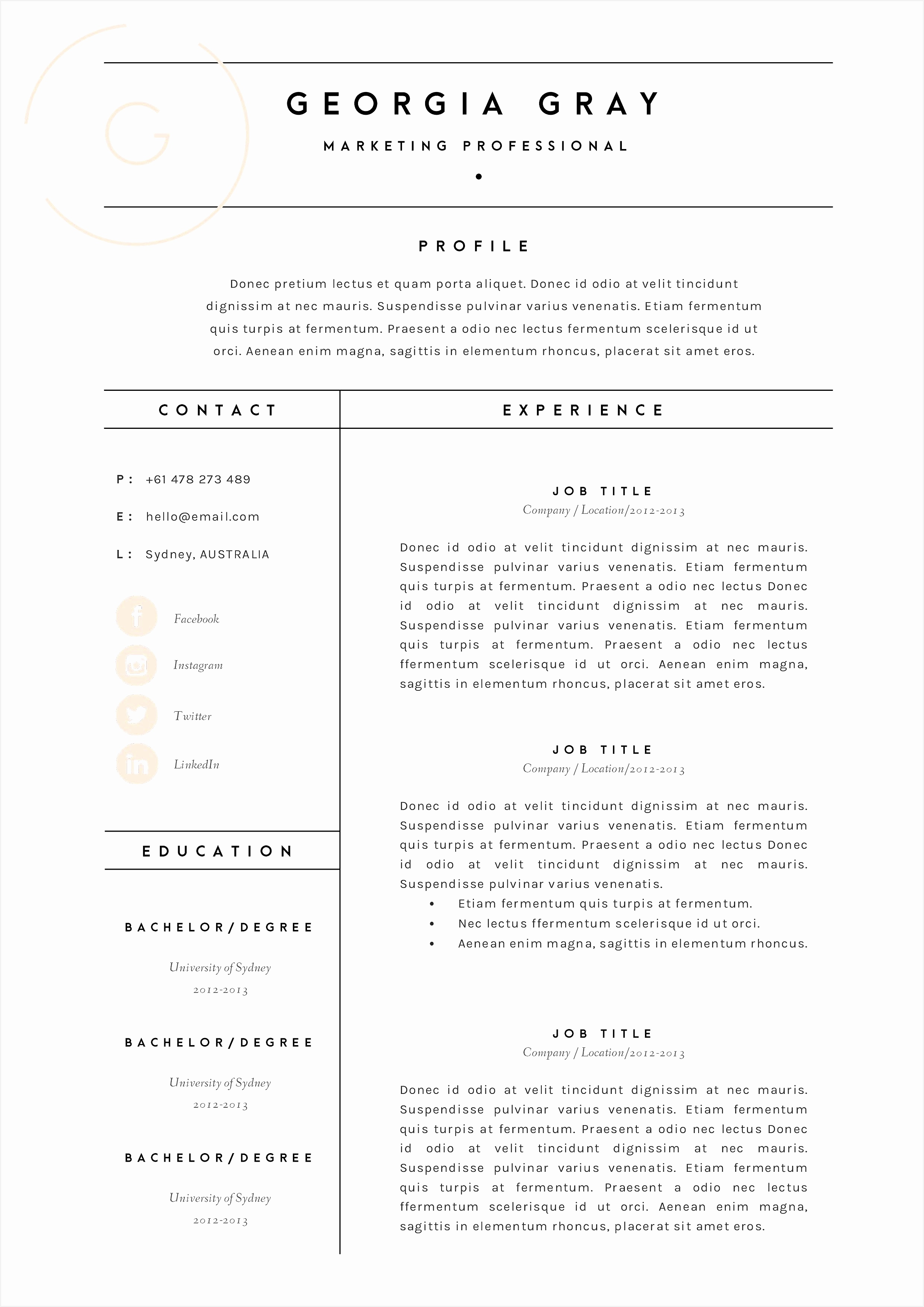 Assistant Buyer Resume Best 25 Fashion Resume Templates Bcbostonians1986 Assistant Buyer Resume Best35082480