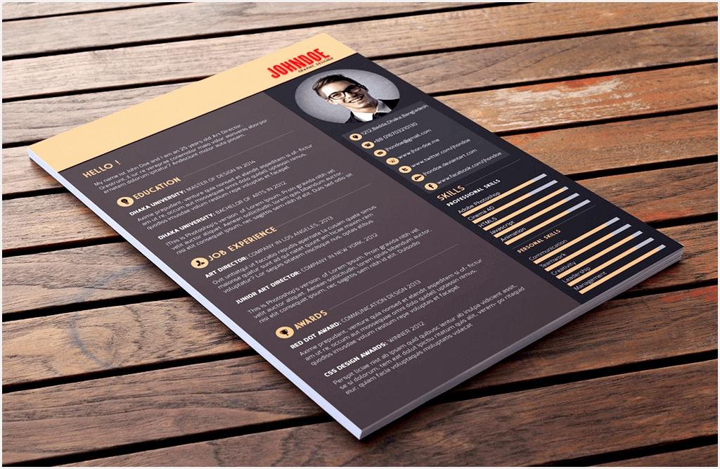 multi color resume template by abdullah al mamun best free6671024