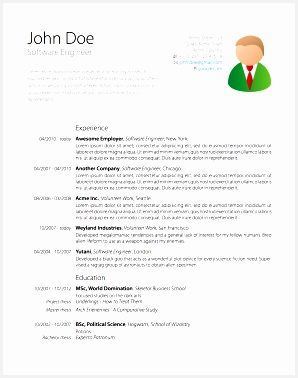 Latex Cv Template Phd Economicsume puter Science Graduate Student Resume With Picture Templates Free Download Application378298