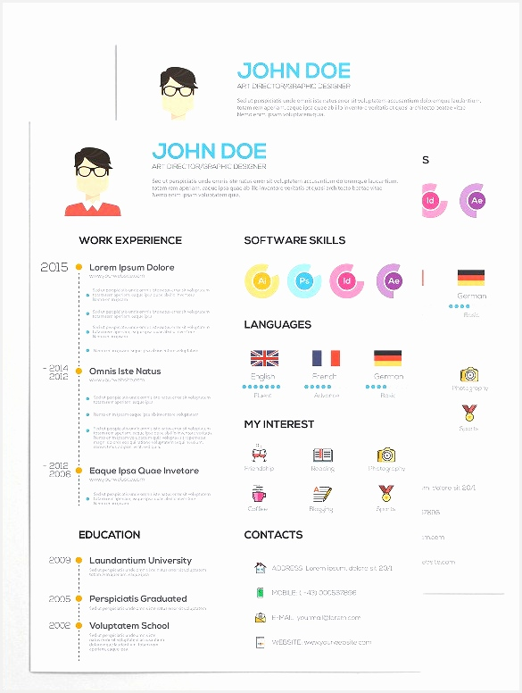 33 Infographic Resume Templates Free Sample Example Format776585