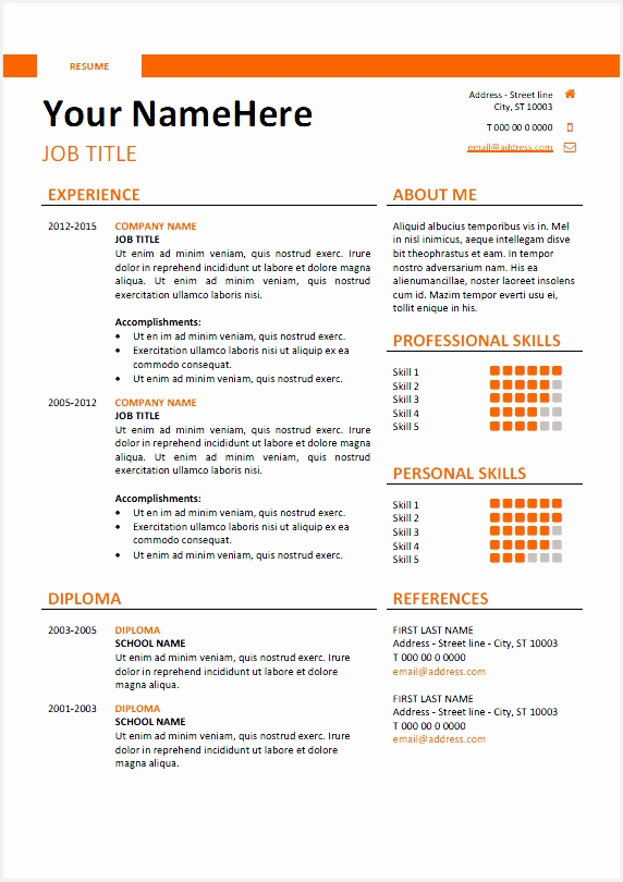 43 Free Resume Sites Pics810572